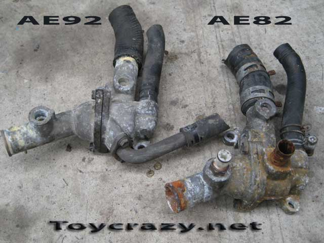 New 4AGE 20V RWD cooling system conversion guide online